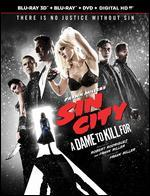 Frank Miller's Sin City: A Dame To Kill For [3 Discs] [UltraViolet] [3D/2D] [Blu-ray/DVD]