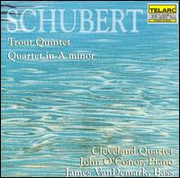 "Franz Schubert: Piano Quintet ""Trout""/Quartet In A Minor - James Dunham (viola); James VanDemark (bass); John O'Conor (piano); Paul Katz (cello); Peter Salaff (violin);..."