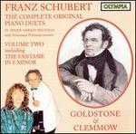Franz Schubert: The Complete Original Piano Duets, Vol. 2