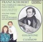 Franz Schubert: The Complete Original Piano Duets, Vol. 3