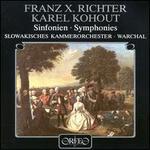 Franz X. Richter, Karel Kohout: Symphonies