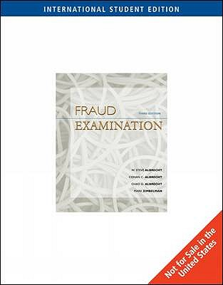 Fraud Examination: With Acl CD-Rom - Albrecht, Conan C., and Albrecht, Chad O., and Albrecht, W. Steve