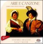 Frescobaldi: Arie e Canzone