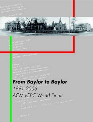 From Baylor to Baylor - Poucher, William B., and Revilla, Miguel A.