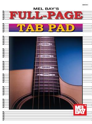 Full-Page Tab Pad - Mel Bay Publications Inc (Creator)