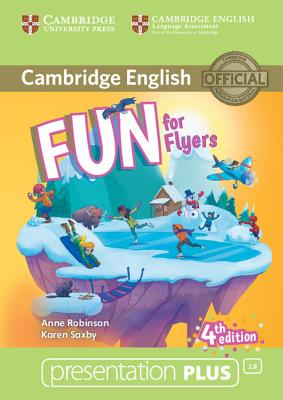 Fun for Flyers Presentation Plus DVD-ROM - Robinson, Anne, and Saxby, Karen