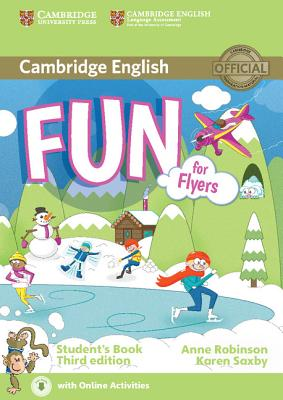 Fun for Flyers Student's Book with Audio with Online Activities - Robinson, Anne