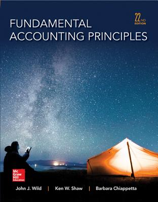 9780077862275 fundamental accounting principles john j wild fundamental accounting principles wild john j and shaw ken professor fandeluxe Images