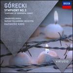 Górecki: Symphony No. 3 'Symphony of Sorrowful Songs' - Joanna Kozlowska (soprano); Warsaw Philharmonic Orchestra; Kazimierz Kord (conductor)