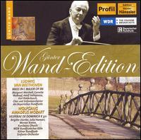 Günter Wand-Edition, Vol. 14 (Beethoven: Mass, Op. 86; Mozart: Vesperae de Dominica, K. 321) - Adolf Dallapozza (tenor); Brigitte Dürrler (soprano); Cornelia Wulkopf (alto); Julia Hamari (alto); Karl Ridderbusch (bass);...