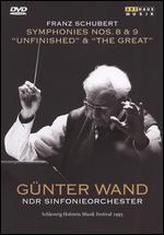 "Günter Wand: Franz Schubert - Symphony No. 8 ""Unfinished""/Anton Bruckner - Symphony No. 9"