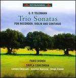 G.P. Telemann: Trio Sonatas for Recorder, Violin and Continuo