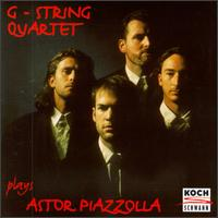 G-String Plays Piazzolla - Christof Groth (cello); G-String; Mike Rutledge (viola); Rodrigo Reichel (violin); Stefan Pintev (violin)