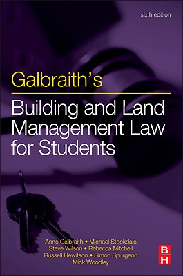 Galbraith's Building and Land Management Law for Students - Stockdale, Michael