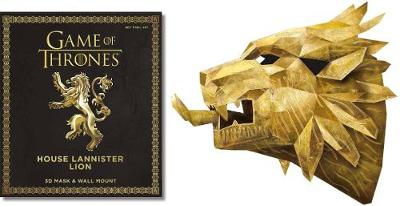 Game of Thrones Mask: House Lannister Lion - Wintercroft, Steve (Illustrator)
