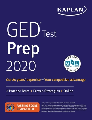 GED Test Prep 2020: 2 Practice Tests + Proven Strategies + Online - Van Slyke, Caren