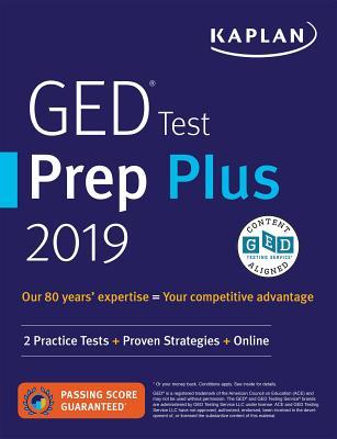 GED Test Prep Plus 2019: 2 Practice Tests + Proven Strategies + Online - Van Slyke, Caren