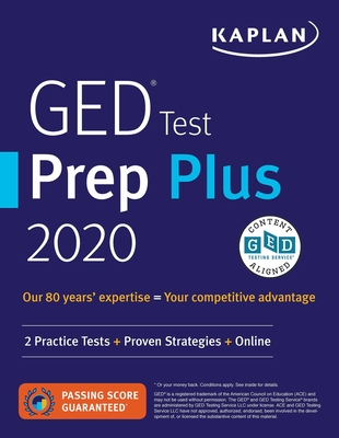 GED Test Prep Plus 2020: 2 Practice Tests + Proven Strategies + Online - Van Slyke, Caren