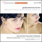 Gedankenverloren: Werke von Schubert, Krenek, Strauss, Trojahn u.a.