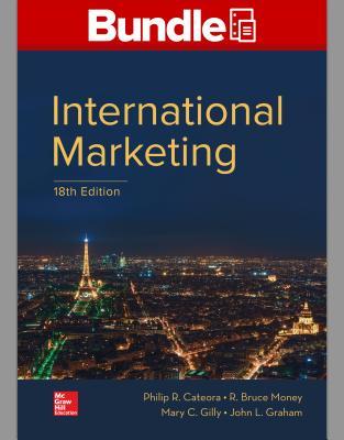 Gen Combo Looseleaf International Marketing; Connect Access Card - Cateora, Philip R