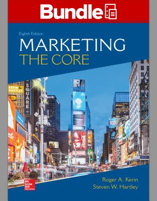 Gen Combo Looseleaf Marketing the Core; Connect Access Card - Kerin, Roger A