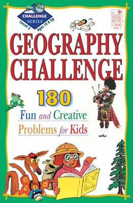 Geography Challenge Level 2: 190 Fun and Creative Problems for Kids - Cheyney, Arnold