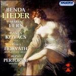 Georg Anton Benda: Lieder
