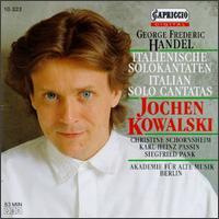 Georg Frederic Händel: Cantatas - Akademie für Alte Musik, Berlin; Christine Schornsheim (clavicembalo); Jochen Kowalski (alto); Siegfried Palm (viola da gamba)