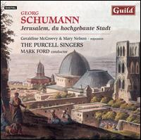 Georg Schumann: Jerusalem, du hochgebaute Stadt - Andy Wood (trombone); David Stewart (trombone); Frank Ricotti (percussion); Geraldine McGreevy (soprano);...