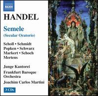George Frideric Handel: Semele - Annette Markert (alto); Britta Schwarz (alto); Elisabeth Scholl (soprano); Julla Schmidt (soprano); Klaus Mertens (bass);...
