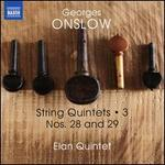 Georges Onslow: String Quintets, Vol. 3 - Nos. 28 and 29