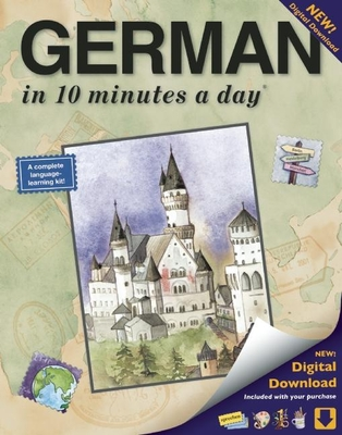 German in 10 Minutes a Day: Language Course for Beginning and Advanced Study. Includes Workbook, Flash Cards, Sticky Labels, Menu Guide, Software, Glossary, and Phrase Guide. Grammar. Bilingual Books, Inc. (Publisher) - Kershul, Kristine K, M.A.