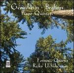 Gernsheim, Brahms: Piano Quintets