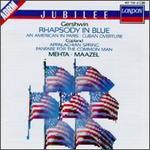 Gershwin: Rhapsody in Blue; An American in Paris; Cuban Overture; Copland: Appalachian Spring