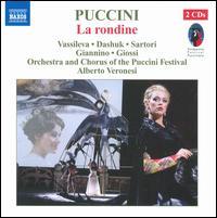 Giacomo Puccini: La rondine - Alessandra Meozzi (vocals); Alessandro Manghesi (vocals); Andrea Patucelli (vocals); Annunziata Vestri (vocals);...