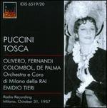 Giacomo Puccini: Tosca - Eugenio Fernandi (vocals); Giovanni Bianchini (vocals); Giovanni Omodei (vocals); Magda Olivero (vocals);...