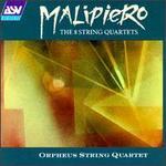 Gian Francesco Malipiero: The 8 String Quartets