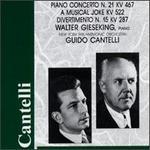Gieseking & Cantelli Play Mozart