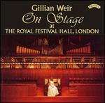 Gillian Weir on Stage at the Royal Festival Hall, London - Gillian Weir (organ)