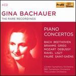 Gina Bachauer: The Rare Recordings - Piano Concertos