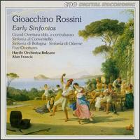 Gioacchino Rossini: Early Sinfonias - Orchestra Haydn di Bolzano e Trento; Alun Francis (conductor)