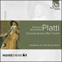 Giovanni Benedetto Platti: Concerti Grossi after Corelli - Akademie für Alte Musik, Berlin