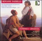 Giovanni Paisiello: Six Divertissements en Quatuors; Cimarosa: Tre Quartetti