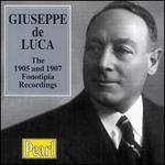 Giuseppe de Luca Recordings 1905-07