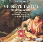 Giuseppe Tartini: The Violin Concertos, Vol. 5 (Non sospirar, non piangere)