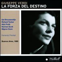 Giuseppe Verdi: La Forza del Destino - Aldo Protti (vocals); Giulio Viamonte (vocals); Gré Brouwenstijn (vocals); Guerrino Boschetti (vocals);...