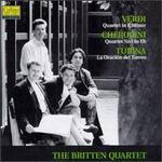 Giuseppe Verdi: Quartet in E Minor; Luigi Cherubini: Quartet No. 1 in E flat; Joaquin Turina: La Oración del Torero
