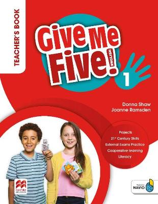 Give Me Five! Level 1 Teacher's Book Pack - Shaw, Donna, and Ramsden, Joanne, and Sved, Rob