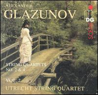 Glazunov: String Quartets, Vol. 2 - Utrecht String Quartet