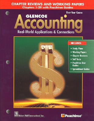 Glencoe accounting chapters 1 29 working papers book by mcgraw glencoe accounting chapters 1 29 working papers mcgraw hill education fandeluxe Choice Image